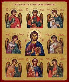 Byzantine Icons, Byzantine Art, Religious Icons, Religious Art, Famous Freemasons, Seven Archangels, Church Icon, Religion, Images Of Christ