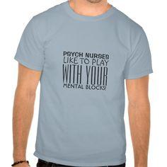 Psychiatric Nurse Humor-Mental Blocks T Shirt, Hoodie Sweatshirt