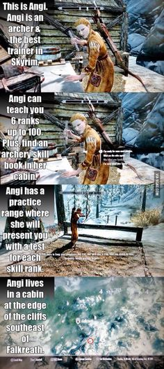 Angi the Archer - Skyrim