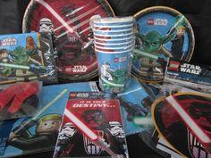Lego Star Wars birthday party supplies