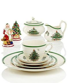 Spode Dinnerware, Christmas Tree Collection - Holiday Entertaining - Holiday Lane - Macy's