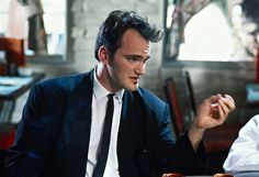 There were possibly no good guys in the 1992 film Reservoir Dogs.  Or bad guys.  The hero was the dialogue, and the villain was the wardrobe.  Director Quentin Tarantino performing the role of Mister Brown.
