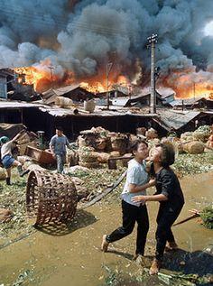 Saigon during Tet offensive, Feb 1968 ~ Vietnam War