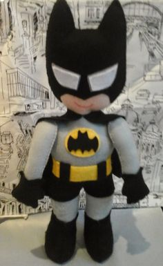 Batman Feltro - Vanessa Pracanico