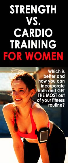 .SIMPLE GUIDE TO STRENGTH AND CARDIO TRAINING FOR WOMEN: The difference between…