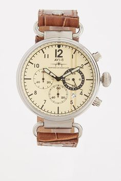 Hawker Hurricane Chronograph Date Watch - AVI-8 - Watches : JackThreads