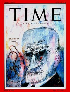 Sigmund Freud painting on the Time Magazine cover
