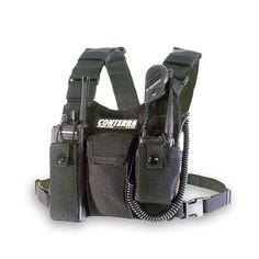 Double Adjusta-Pro Radio Chest Harness   Conterra Inc