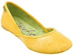 Cute and comfy flats  for bridesmaids.  These appear to be discontinued by blowfish shoes