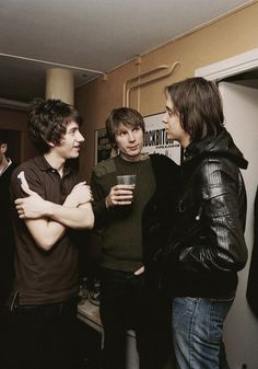 Alex Turner, Alex Kapranos and Julian Casablancas.