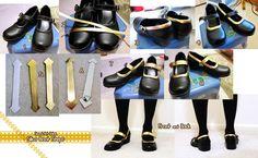 Sword Art Online Silica Boots Progress by LiJianliang on DeviantArt