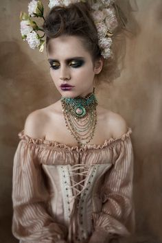 Victorian hair & make up