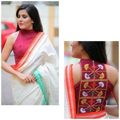 halter neck blouse saree halter neck blouse saree,Whole 9 yards Related Stylish Organization Ideas for Small Bedrooms Sari Blouse, Cotton Saree Blouse Designs, Fancy Blouse Designs, Bridal Blouse Designs, Sleeveless Blouse, Blouse Patterns, Latest Saree Blouse Designs, Shagun Blouse Designs, Indian Blouse Designs