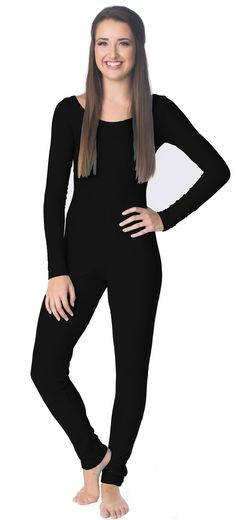 Black Unitard 200+ color Choices. Handmade in the USA! $49.99
