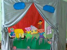 "Puppet theatre ""Three piggies"""