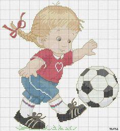 Cross Stitch World Cross Stitch For Kids, Cute Cross Stitch, Cross Stitch Charts, Cross Stitch Patterns, Cross Stitching, Cross Stitch Embroidery, Stitch Games, Stitch Doll, Cross Stitch Pictures