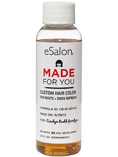 This eSalon personalized at-home hair-dye kit basically makes DIY at-home hair…