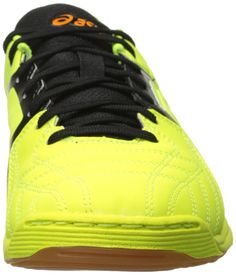 timeless design d0af3 113b6 ASICS Mens Copero S 2 Soccer Shoe Flash Yellow Onyx Marigold 7 M US