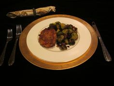 Salmon Cakes and Brussels Sprouts.  To obtain recipe 74 & 75 send me an email at donnainthekitchen@gmail.com. Lots more on my Facebook page just click on the picture and I'll see you at my Donna in The Kitchen Facebook page.