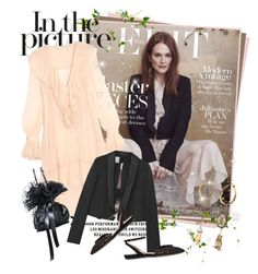 """Julianne More for The edit"" by mrekulli ❤ liked on Polyvore featuring Philosophy di Lorenzo Serafini, Lanvin, Alexander McQueen and Tabitha Simmons"