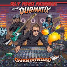 """NEW RELEASE   Sly & Robbie meet @Dubmatix   """"Overdubbed""""   ALBUM   #Reggae #Dub   CA   Echo Beach (EB125)   It's about time for a Grammy...  In Reggae all roads lead to the Riddim Twins Sly & Robbie. Theyve been revered as style-defining icons for years and together and individually have a massive influence on the genre. They are also renowned for their willingness to shatter boundaries and experiment with sounds. Over the past decades they have never been shy of leaping over into other…"""