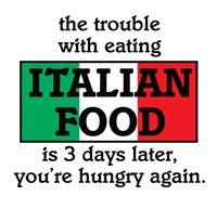 Italian Food Lover here!