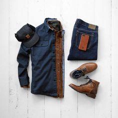 Brown styling #MensFashion