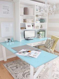 diy | desk makeover {via denise-fabian}
