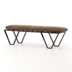 """Stefania 60"""" Upholstered Bench"""
