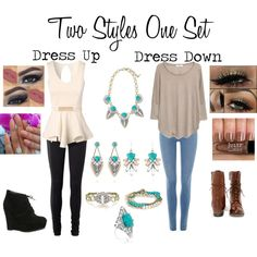 Two Styles One Set