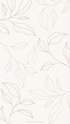 Leaves • wallpaper background | Art wallpaper iphone, Aesthetic iphone wallpaper, Minimalist wallpaper