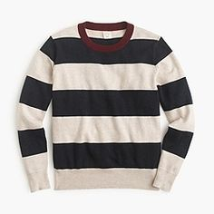 Boys' rugby stripe sweater