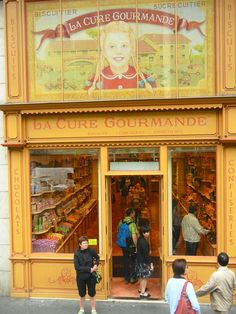La Cure Gourmande, candy shop, Paris. http://www.lonelyplanet.com/france/paris