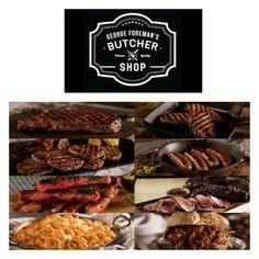 george foreman butcher shop contest