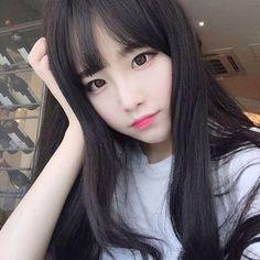 Cute Korean Girl with Beauty Longhair . Best Of Cute Korean Girl with Beauty Longhair . Cute Korean Girl, Cute Asian Girls, Beautiful Asian Girls, Cute Girls, Beautiful Images, Moda Ulzzang, Korean Ulzzang, Uzzlang Girl, Womens Wigs