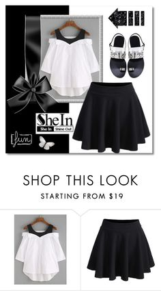 """SheIn no.1"" by silvijo ❤ liked on Polyvore"