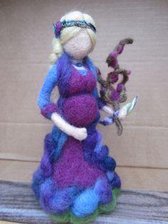 Zwangere vrouw. Gemaakt voor mijn dochter. Eigen creatie van Ans van Hintum