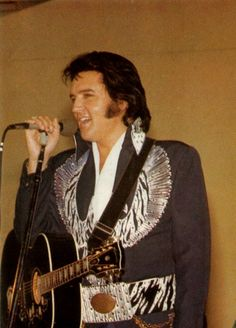 Elvis in Concert.. Terre Haute,IN July 9, 1975... I was there :) (Photo) Cher HQ.