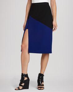 BCBGMAXAZRIA Pencil Skirt - Jowell Color Block   Bloomingdale's
