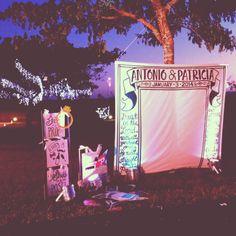 Garden Wedding photo backdrop