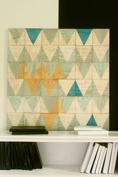 Moonish wall tiles