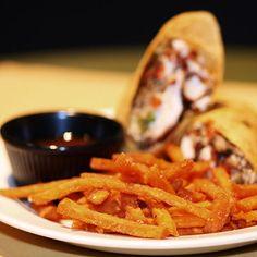 Trend: Knusprige Süßkartoffelpommes selber machen