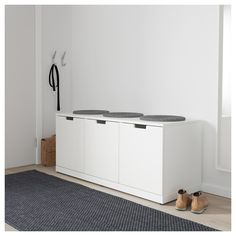 IKEA's NORDLI series offers fully customizable bedroom storage solutions featuring modular sections that allow you to design your chest of drawers from scratch. At Home Furniture Store, Modern Home Furniture, Ikea Furniture, Furniture Cleaning, Furniture Design, Tall Drawers, Painted Drawers, 3 Drawer Chest, Chest Of Drawers