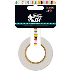 Enjoy Life Illustrated Faith Delight In His Day Washi Tape