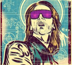 David Guetta / Client: Rolling Stone / Illustration: Diego Patiño