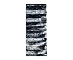Alfombra en algodón, gris - 70x180 cm