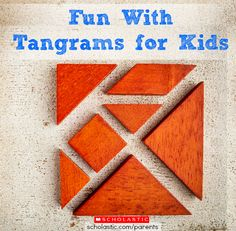 Encourage math skills while entertaining your kids with tangrams! Click for ideas and resources.