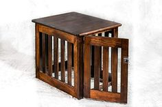 Amish Made Wood Decorative Dog Crate – Heavy Duty Chew Resistant Wooden Kennel End Table Medium 29 x 23 x 24 inches Maple -- Learn more by visiting the image link. Wood Dog Crate, Dog Crate Furniture, Living Room Furniture, Furniture Design, Decorative Dog Crates, Medium Dog Crate, Heavy Duty Dog Crate, Plastic Dog Crates, Living Room Colors