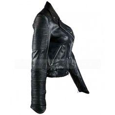 black jacket woman leather - Szukaj w Google