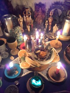 My Litha altar 2015 (RJ/Brazil) By Patchouly Greenwitch